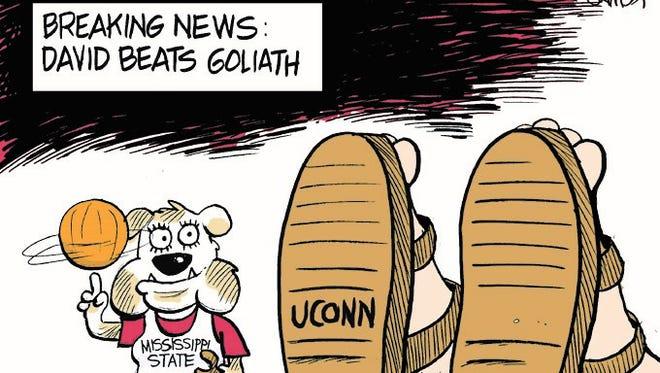 Breaking News: David Beats Goliath