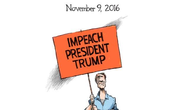 Cartoon for Nov. 10, 2016.