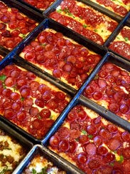 Lions & Tigers & Squares Detroit Pizza opened recently