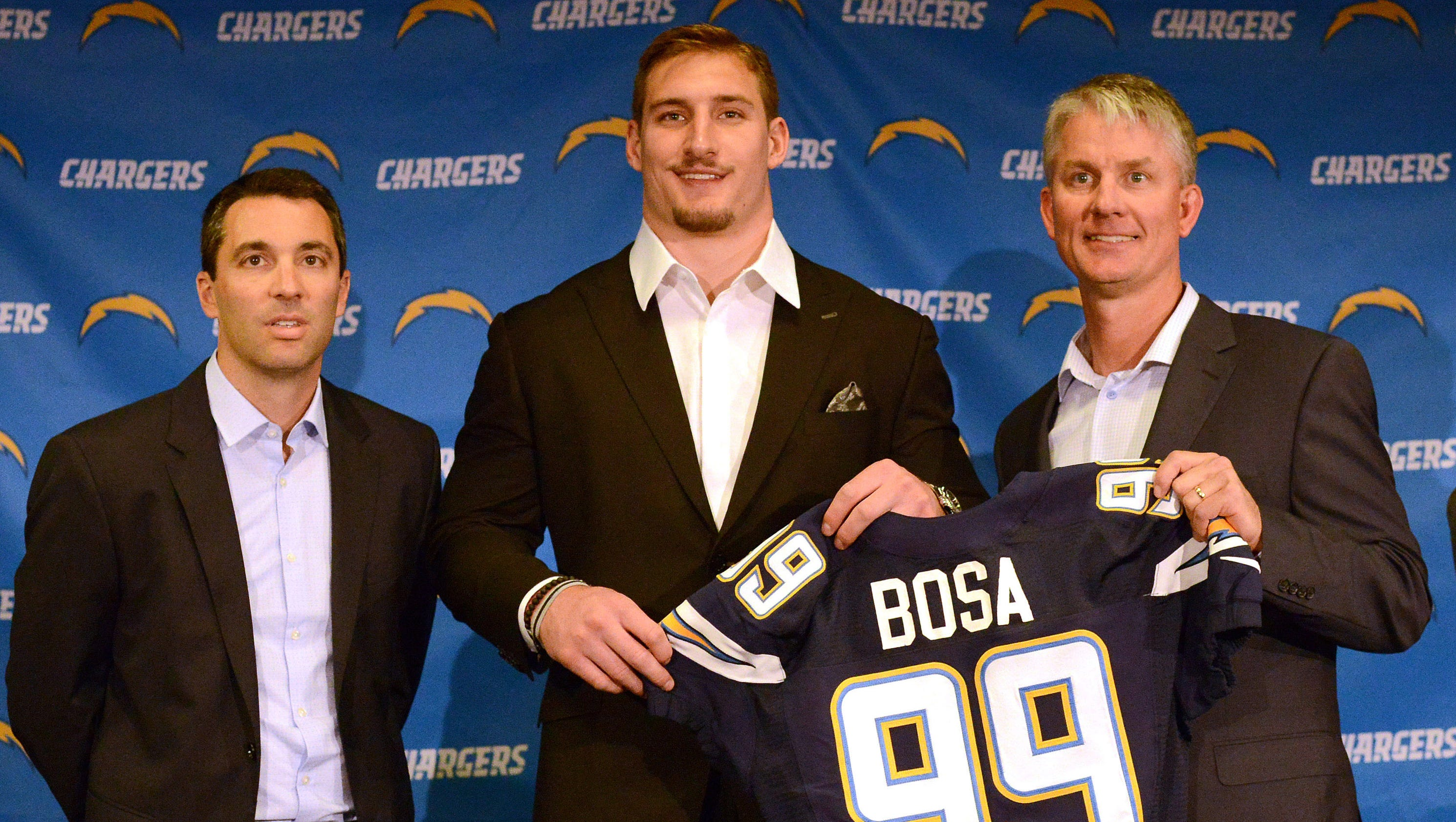 Chargers scorched earth move with Joey Bosa leaves few options
