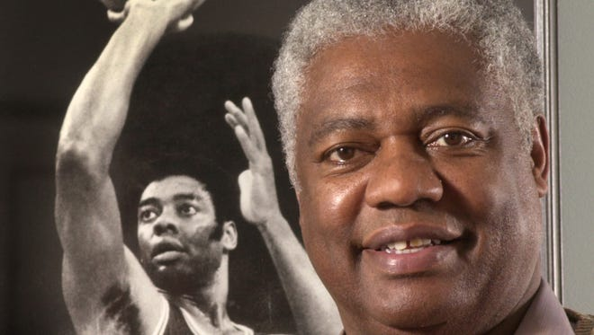 Basketball great Oscar Robertson