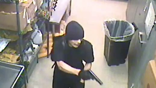 Henderson Police Department is looking for the man who robbed Subway on Monday night.
