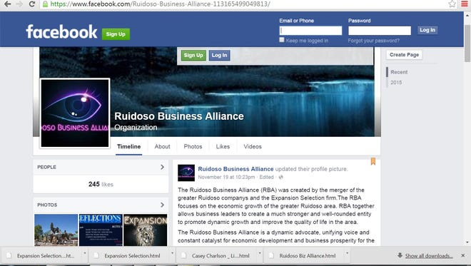 Local business figures question whether this Facebook page and a handful of others connected to it is what it says it is.
