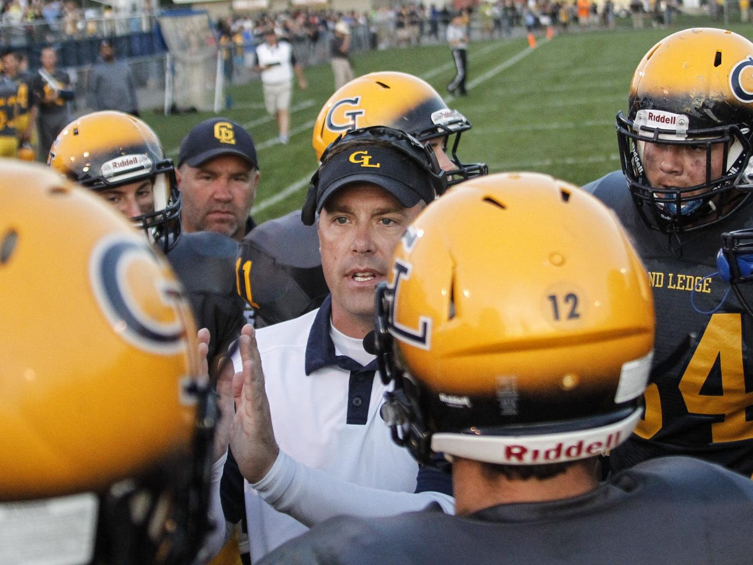 Coach Matt Bird and Grand Ledge are ranked No. 10 in Division 1 this week.
