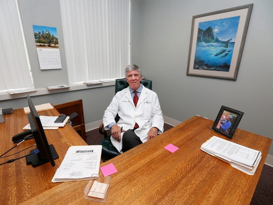 Dr. Jim Blaine is the lead physician for the Health