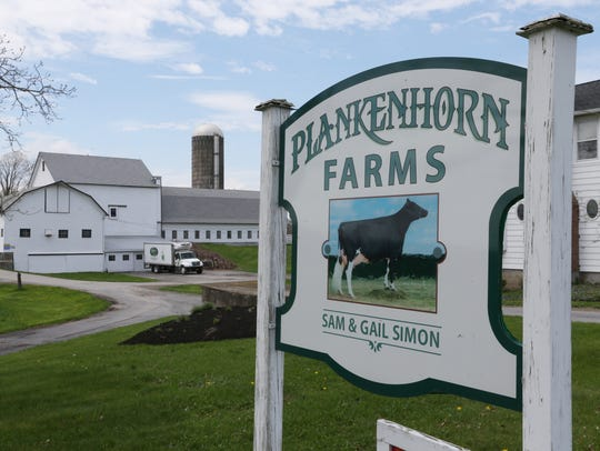 Plankenhorn Farms in Pleasant Valley on May 4, 2018.