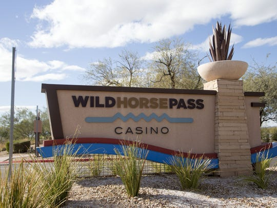 WILD HORSE PASS HOTEL AND CASINO.
