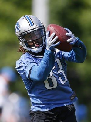 Lions wide receiver Patrick Edwards.