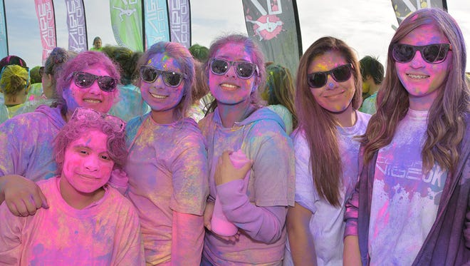 The Color Vibe 5K returns Oct. 10 to the Oregon State Fairgrounds.