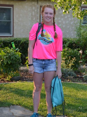 Glasgow High School junior Katie Kaiser has taken the reins of a program that puts snacks in the backpacks of hungry students to keep them from going hungry during the weekend.