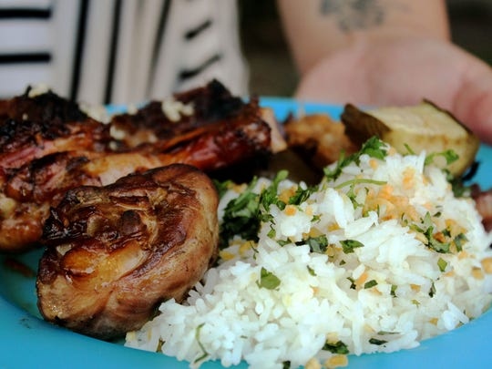 Filipino-inspired pop-up Sarap is hosting a guest Seattle chef for a special kamayan-style dinner at Brooklyn Street Local in Detroit September 19, 2016.