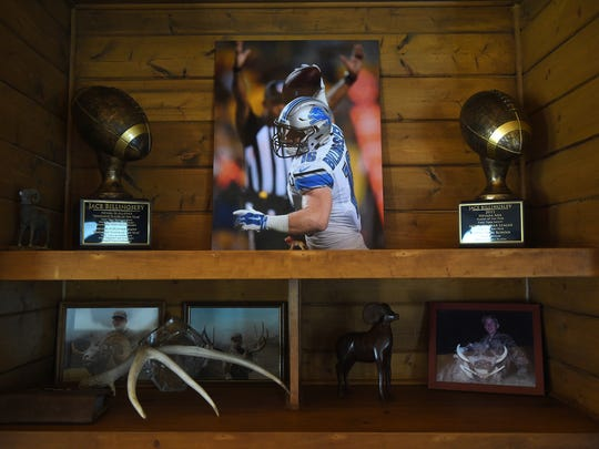 Photos of Jace Billingsley are seen in his family home in Winnemucca.