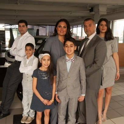 Tanya and Bas Robin, the new owners of Lassen Automotive,