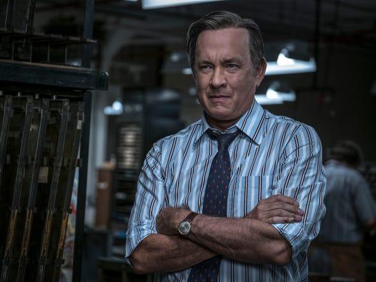 Tom Hanks as Ben Bradlee in 'The Post.'