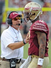Florida State head coach Jimbo Fisher will look for