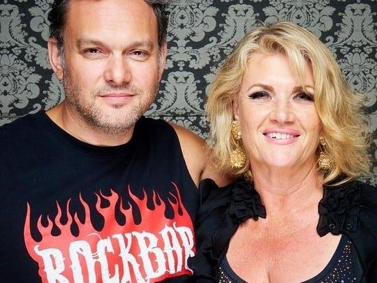 RockBar Theater owners Robert Farrell and Susan Cramer.