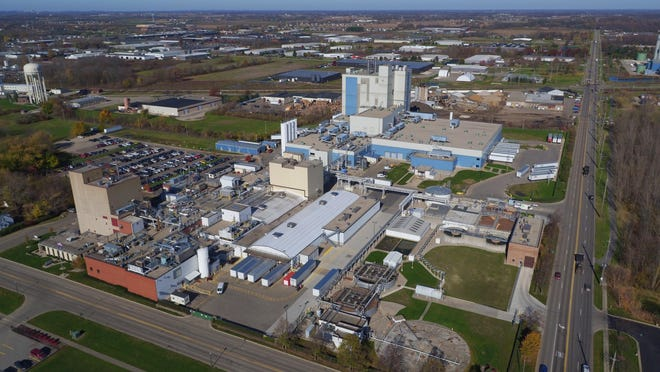 Mead Johnson's infant formula manufacturing facility in Zeeland.