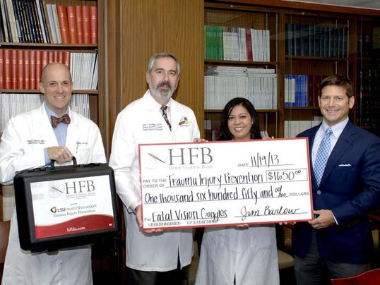 Home Federal check pres to LSUHS.jpg