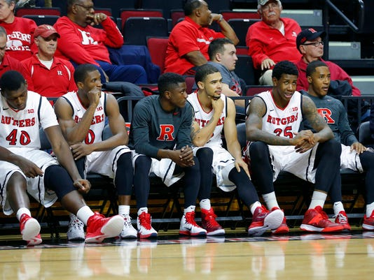 NCAA Basketball: St. Peter's at Rutgers