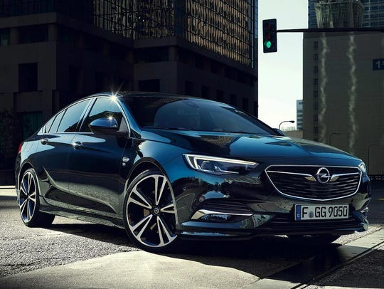 The French-sold Opel Insignia Grand Sport.