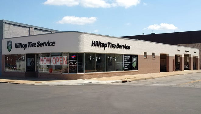 Hilltop Tire Service has opened in the former Simon Tire location in Des Moines' East Village.