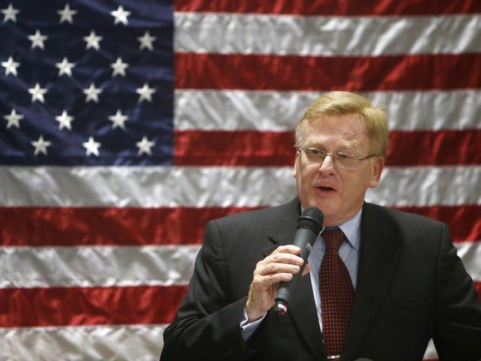 Ken McClure is the mayor of Springfield.