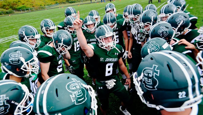 St. Johnsbury is 5-0 and No. 1 in the Free Press' Varsity Insider football power rankings.