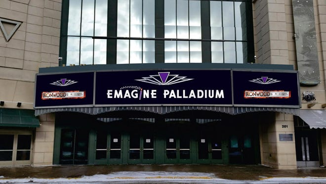 The five-screen Emagine Palladium in downtown Birmingham opens to the public Oct. 2.