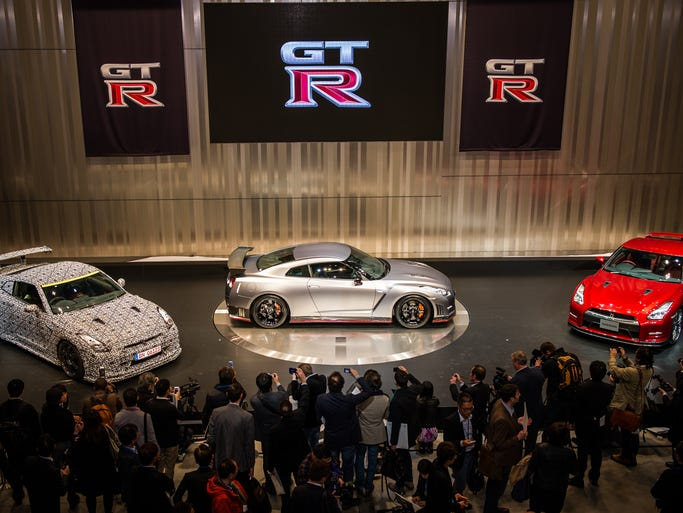 Nissan GT-R and GT-R NISMO took center stage at the event connected to the Tokyo International Motor Show.