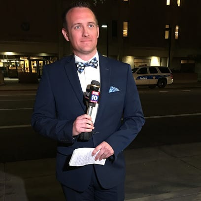 The heartbreaking reason why Fox 10's Matt Rodewald wears a bow tie on air in April