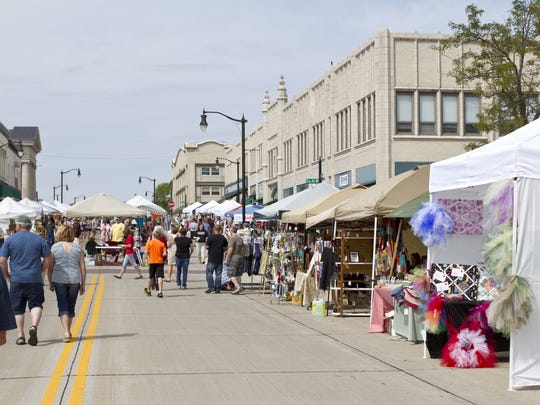 Downtown Grand Affair 10 a.m. to 3 p.m. Sunday