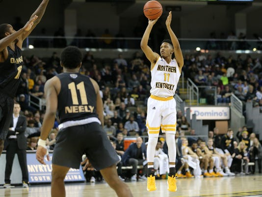 purchase cheap cab8a 49f2d Mason Faulkner granted releas by NKU after sophomore season