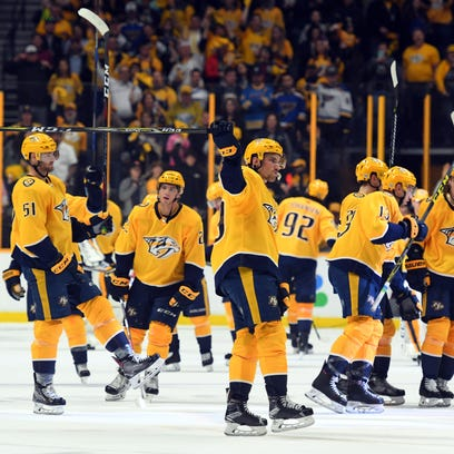 Who would Predators play if NHL Stanley Cup playoffs started today?