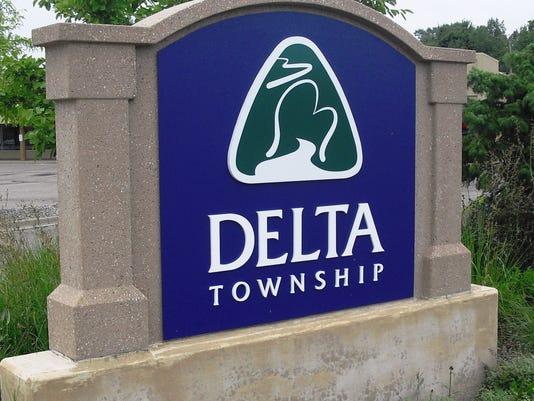 Delta Twp. sign