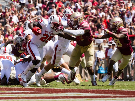 Penalties plagued Florida State throughout its 27-21 setback versus NC State, as the Seminoles were flagged 11 times for 93 yards.