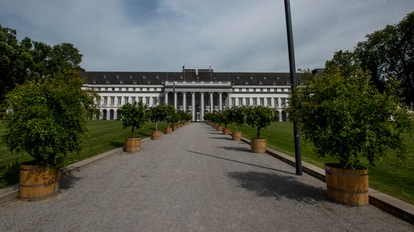 The Electoral Palace of Koblenz.