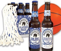 Cheer on UK with blue, white six-pack