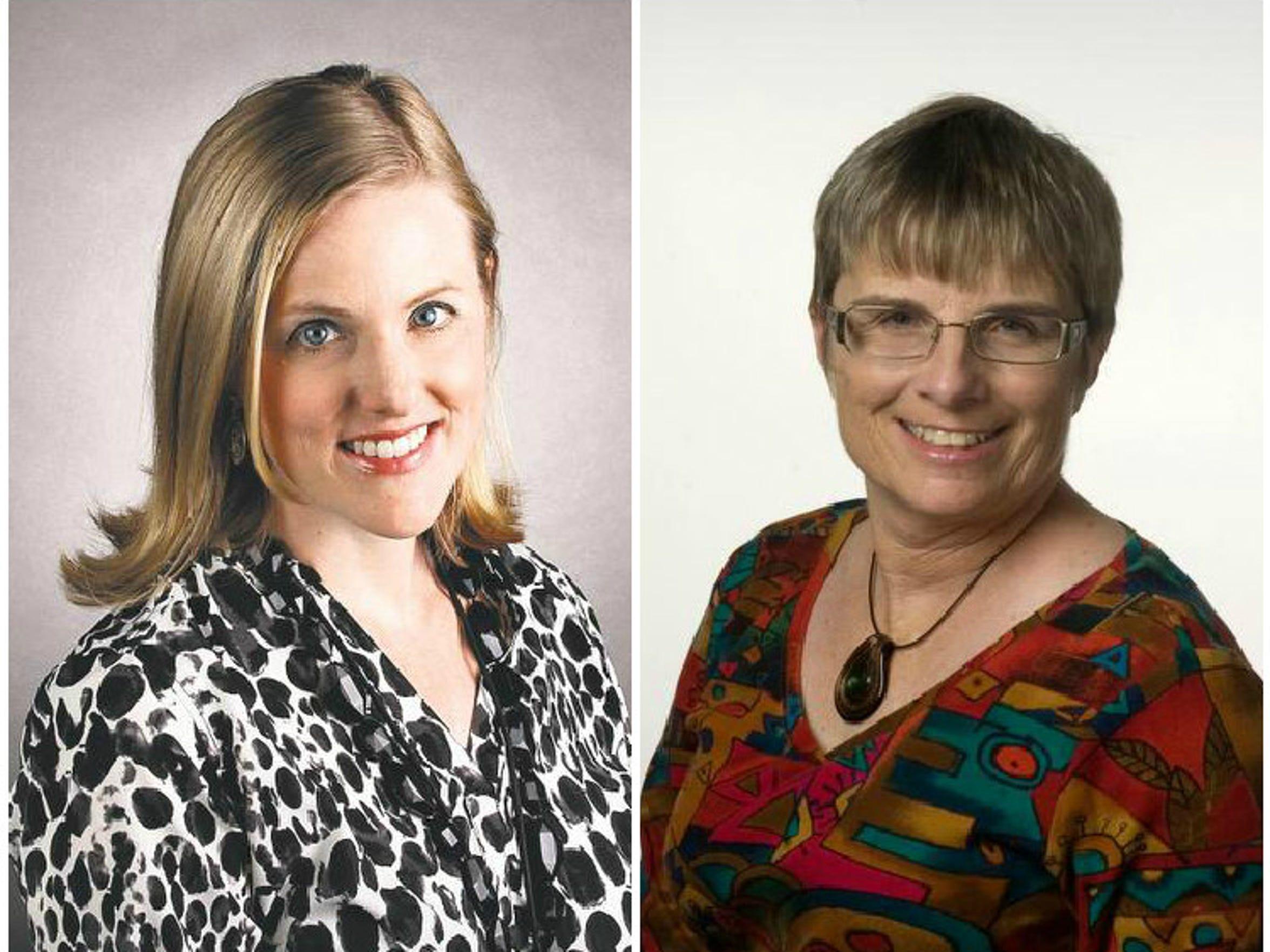 News-Press reporters Janine Zeitlin and Laura Ruane
