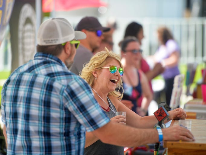 The 2018 Beer and Gear beer festival gets underway
