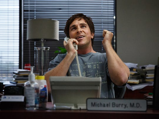 Christian Bale stars in 'The Big Short.'