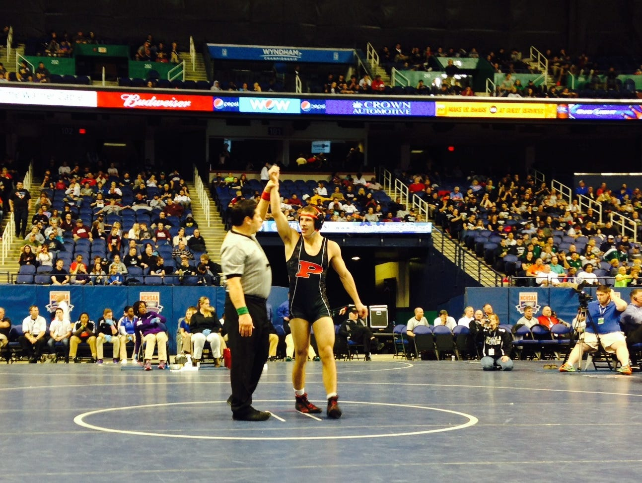 Pisgah senior Dillon O'Neil has committed to wrestle in college for Emmanuel (Ga.).