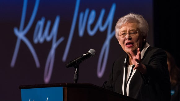 Governor Kay Ivey announces that she is running for