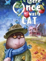 """""""There Once was a Cat"""" written by Katrina Kusa."""