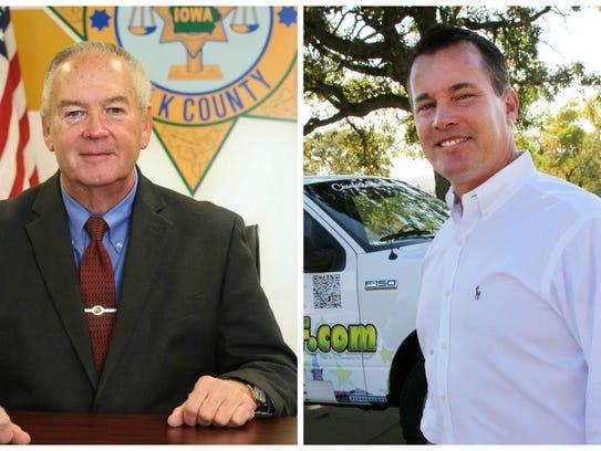 Polk County sheriff candidates Sheriff Bill McCarthy
