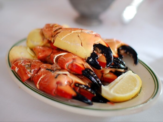 Stone crab from Jack's Lobster Shack. (Photo: Jack's Lobster Shack)