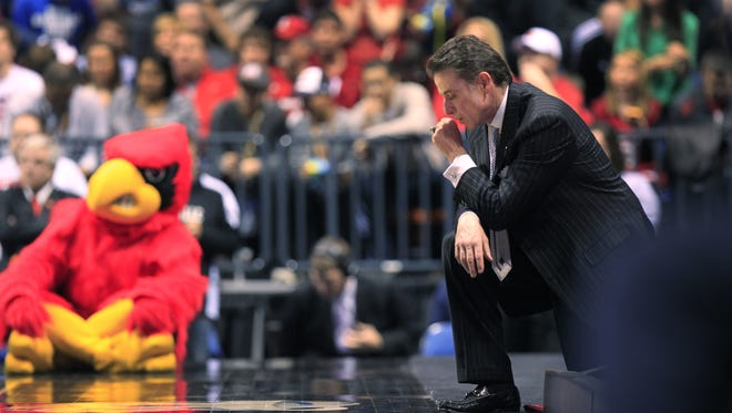 Louisville coach Rick Pitino is facing mounting criticism.