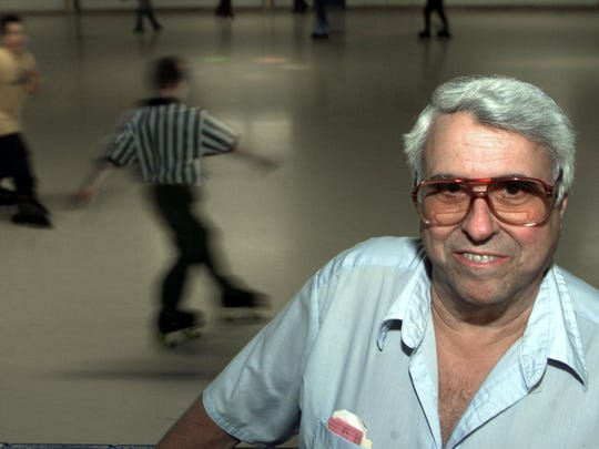 When kids were looking for help to open a skating rink, Don Stein put up the money and business help to open Great Skates Family Fun Center. Profits went to the Lyn Treece Boys and Girls Club.