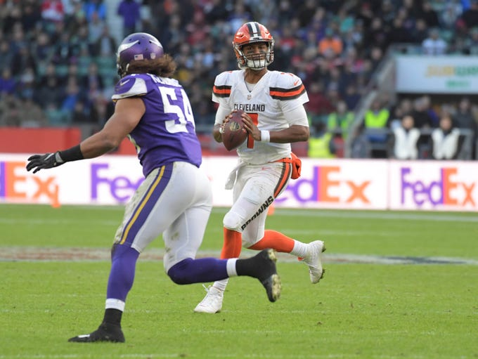 32. Browns (32): We assumed bye week would spare them