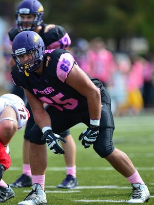 UW-Stevens Point offensive lineman Ryan Ramczyk, who earned all-Wisconsin Intercollegiate Athletic Conference honors as a freshman and sophomore, has transferred to the University of Wisconsin.