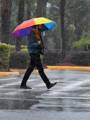 Heavy rain, thunderstorms rolled through Central Brevard on Sunday. FILE.